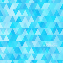 Abstract background of triangles of different colors.