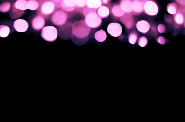 purple christmas background