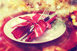 Holiday Dinner Plate Setting - 70055667