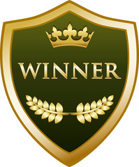 Winner Gold Shield
