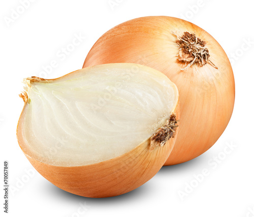 Leinwandbild Motiv onion bulbs