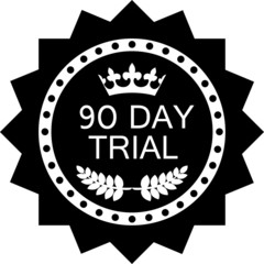 Ninety Day Trial Icon