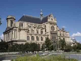 Iglesia de San Eustaquio en París