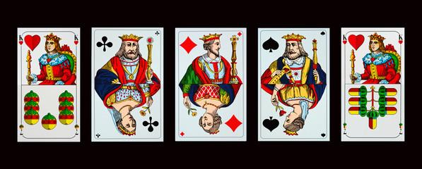 Spielkarten - Hochzeit im Königshaus