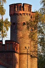 Friedrichsburg gate at sunset. Kaliningrad (formerly Koenigsberg