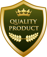 Quality Product Gold Shield