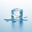 Melting ice cube - 70059609