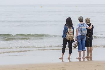 Abuela,madre e hija