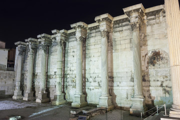 Surrounding wall of Hadrian library