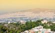 Obrazy na płótnie, fototapety, zdjęcia, fotoobrazy drukowane : View of city and National Observatory in Athens