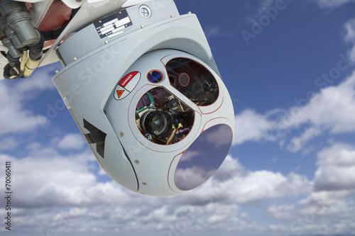 Closeup of Drone Camera and Sensor Pod Module - 70060411