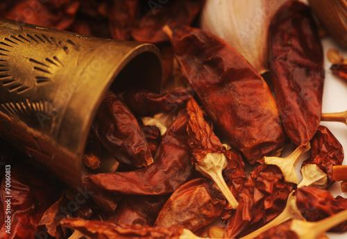 Foto op Canvas Kruiderij Czuszka - papryka chilli