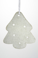 Christmas Ornament White Christmas Tree