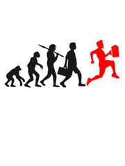 Evolution Bier Rennen Saufen