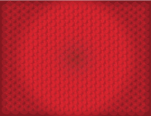 Red Pattern background with circle light vector
