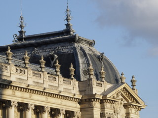 Detalle del Petit Palais en París