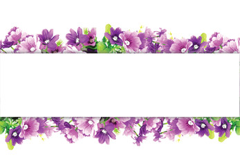 violet pattern and label for text background
