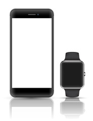 Smartphone and watch