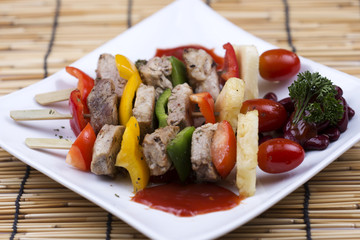 grilled beef barbeque