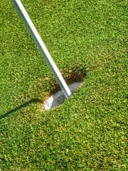 Golfsport - Einlochen....