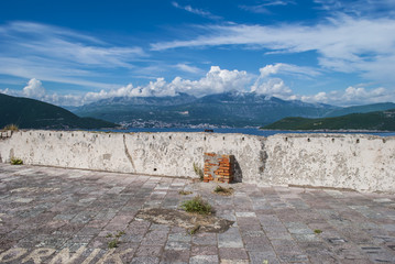 Castle on the Croatian Coast