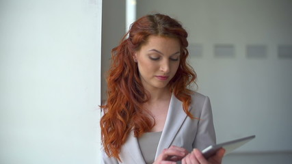 Businesswoman Pondering