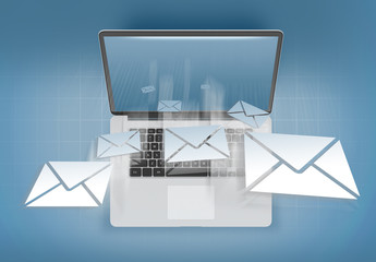 Receiving mail on a personal computer