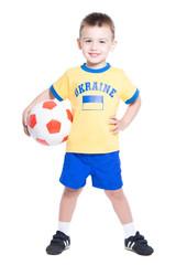 Nice little Ukrainian football player