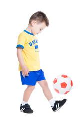 Nice little Ukrainian footballer