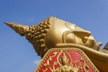 Reclining Buddha image, Vientiane  Province , Laos