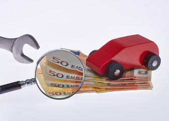 Werkstatt Kosten für den PKW