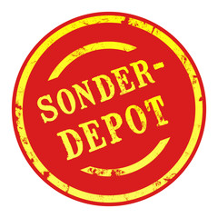sb28 - SaleButton Rund - Sonderdepot - g1664