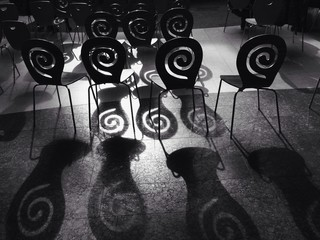spiral chairs