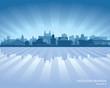 Novosibirsk Russia skyline city silhouette