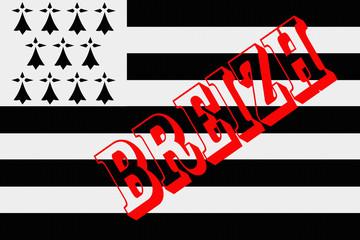 BREIZH - Bretagne - Emblème