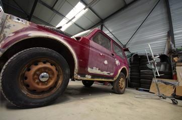 atelier de carrosserie - 4x4