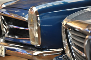 Mercedes Pagode Front