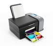 Leinwanddruck Bild - Printer
