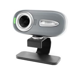 Webcam isolated on white
