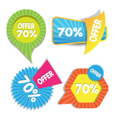 web sale and discounted banners design