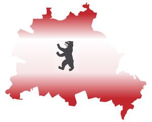Berlin als Flagge