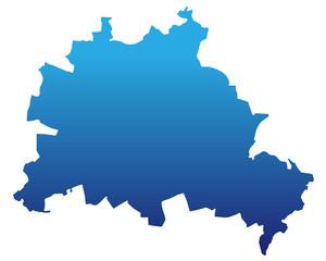Berlin in blau