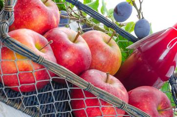 apple plums juice