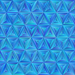 Seamless Blue Triangulate Pattern