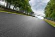 Leinwandbild Motiv motorsport rennstrecke in zolder belgien