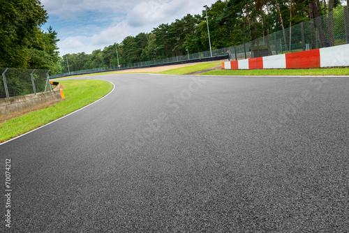 Foto op Aluminium Motorsport motorsport rennstrecke in zolder belgien