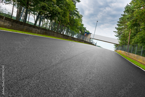 Foto op Canvas Motorsport motorsport rennstrecke in zolder belgien