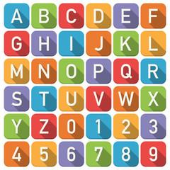 alphabet icons