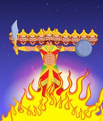 Ravana Dahan