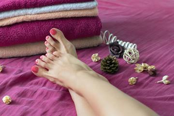 Feet spa treatment